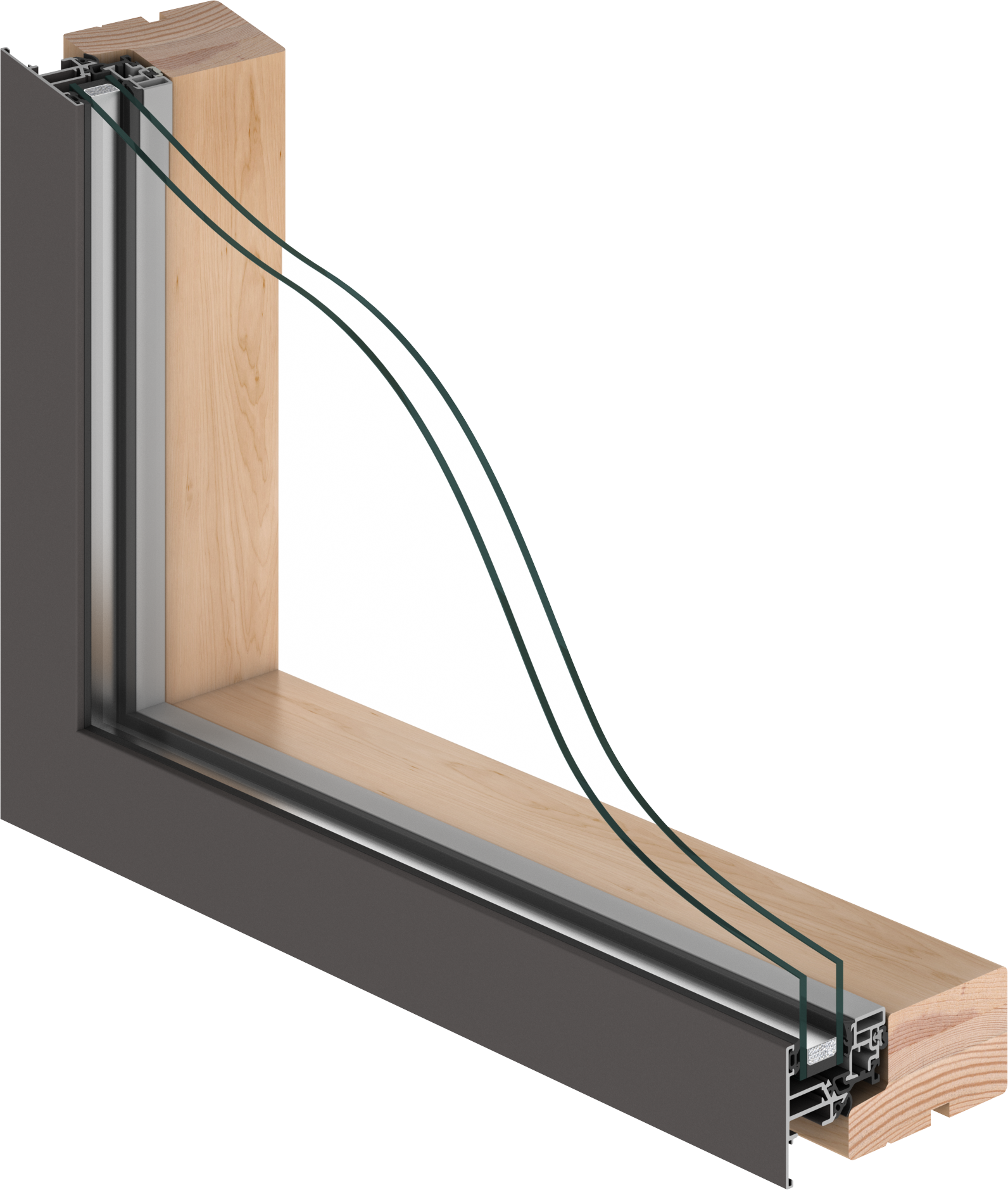 A stylish and sophisticated window with double glazing